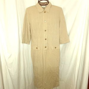 VTG APPLESEED'S®️BOHO GYPSY TRENDY SHIRT DRESS 8
